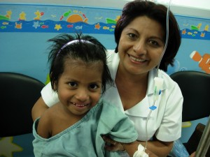 Alma Rosa and Nurse Patty