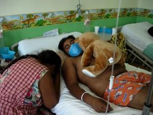 Diego sleeping w Tappy